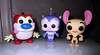 Stimpy and Ren and Porky Pig Space Cadet 1149 (Brechtbug) Tags: stimpy ren porky pig space cadet from duck dodgers middle pop figure action figures alien villains film movie blue creature monster universal insect bugs scifi science fiction galaxy universe mars shackles handcuffs 2017 toys toy red weapon funko animation cat dog
