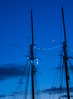 Setting course for the New Year! (d.cobb56) Tags: sky night northstar moon ship atlantic ocean settingcourse newyears newyear destination dusk maine blue december