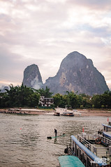 Life in the river. Xingping (kasia_victor) Tags: china guilin xingping people