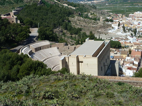 Restored Roman Theatre at Seguntum (once known as_