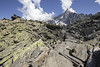 Trail [FR] (ta92310) Tags: travel summer 2016 europe france chamonix 74 hautesavoie lpes alps montenvers dru drus merdeglace trail randonnée chemin signal forbes rocher