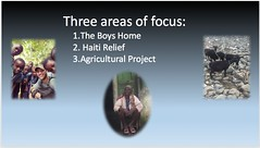 The Open Arms and Helping Hands Project focused on these three priorities.