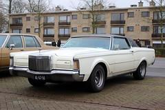 1971 Lincoln Continental Mark III (Dirk A.) Tags: al6350 sidecode1 importkenteken 1971 lincoln continental mark iii