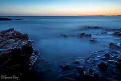 Ogmore (parry101) Tags: ogmore bridgend sunrise rise dawn blue blues south wales sea seas water ocean long exposure exposures rock rocks 10stop filter serene outdoor nature longexposure le coast landscape seascape