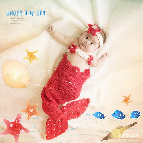 華納婚紗/人魚寶寶