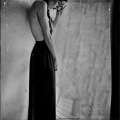 """Tightly Wrapped In Black Love"" (RapidHeartMovement) Tags: portrait selfportrait poeticalinspirations poświatowska poetry photography blackwhite conceptual"
