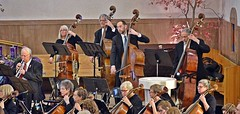 Bass Section-HSS! (Busy Packing-Sorry 4 Not Commenting!) Tags: albuquerquephilharmonicorchestra basssection musical instruments classical music basses people sttheresechurch albuquerquenm orchestra section strings cello horn