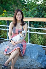 tan b & me (ceci cheung) Tags: yorkie yorkshireterrier tanji me
