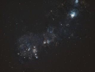 Small Magellanic Cloud Narrowband/RGB