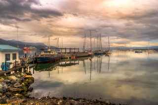 In the port of Ushuaia