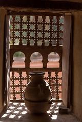 Casbah du Caïd Ali (Pascale Jaquet & Olivier Noaillon) Tags: architecturetraditionnelle moucharabieh pdf3 pisé fenêtre agdz soussmassadraâ maroc ma