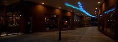 neon (amazingstoker) Tags: basingstoke basingrad amazingstoke river neon light festival place bus staion passage restaurant blue green passageway night giraffe coal edward hopper hawks nighthawks glow pool bollard planter