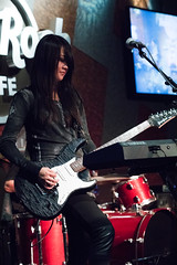 20150620-DSC01167 (Mark Ramelb Photography) Tags: rock guitar mari yamaha pacifica hardrockcafe emke