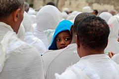Little Blue Riding Church (ybiberman) Tags: boy portrait easter israel candid jerusalem prayer streetphotography churchoftheholysepulchre alquds christianquarter deiressultan