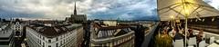 Twenty minutes to go (agruebl) Tags: vienna wien sky panorama storm clouds austria österreich himmel wolken ciel thunderstorm stephansdom nuages gewitter vienne orage autriche tempête sturm dachterrasse rooftopbar