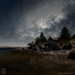 "Imagine Monhegan, Wik Wak (24""x24"") (JMichaelSullivan) Tags: magical badge wikwak kent rockwellkent 500v 5f 10f 15f"