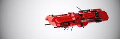 M-tron deep space research ship (per_ig) Tags: lego mini scifi spaceship cruiser mtron miniscale