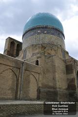 _D3U5462 Shahrizabz - Kok Gumbaz (Kék) mecset (Németh Viktor) Tags: blue viktor mosque uzbekistan kok gumbaz shahrisabz németh világutazó drnvq