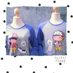 #แขนยาวน่ารักๆ#เสื้อคู่ #เสื้อยืด #อยากขาย #อุดรธานี #idear #idearudon #madetoorder #สกรีน  สนใจสั่งเลย#รีบๆด่วนๆ ไลน์:nuchidear