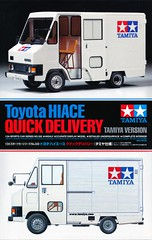 LH24 Toyota Hiace Quick Delivery Tamiya Version (celicacity) Tags: model version 124 toyota delivery kit tamiya quick hiace 332 24332 950344