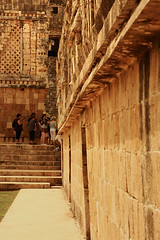 (eflon) Tags: city architecture mexico ancient ruins decay corridor yucatan mayan civilization peninsula mx uxmal bldgs