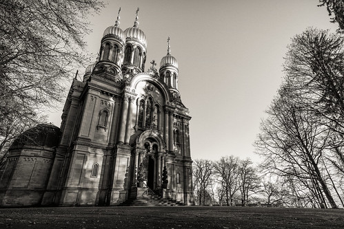 Russian Orthodox Church b&w