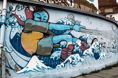 rete (Irma Testa) Tags: strada acqua torun coolpixs7000 polonia art graffii street urbanart