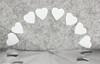 White Paper Hearts (VenturaMermaid) Tags: justwhitepaper challenge macromondays hmm paper macro heart notmonochrome fail 100mm tokina canon