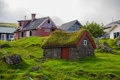 Turf house in Tórshavn, Faroe Island (thorrisig) Tags: 3072014 færeyjar hús gras steinar torfbæir þórshöfn thorrisig thorfinnursigurgeirsson thorri þorrisig thorfinnur þorfinnur þorri þorfinnursigurgeirsson sigurgeirsson sigurgeirssonþorfinnur faroeislands straumey streymoy tórshavn houses house