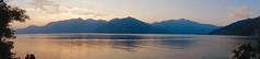 """Calme soirée """"Lac Majeur - Italie"""" (josianelavielle) Tags: lac montagne coucher du soleil"""