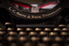 019/365: LC Smith No 5 (dharder9475) Tags: 019365 2017 365project dark evening keys lcsmithbros night no5 privpublic shallowdepthoffield typewriter