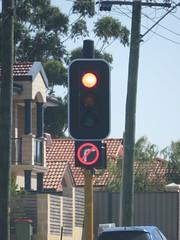 2016 Perth Tour - Braums 200mm LED Traffic Lights and Aldridge 300mm 'No Right Turn' signal (RS 1990) Tags: perth westernaustralia wa australia november 2016 braums trafficlights signals norightturn