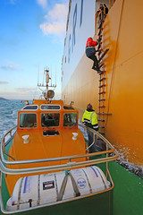 The Italian job. (MSGS4) Tags: cork ireland whitegate water river nautical tug pilot tanker nscreation