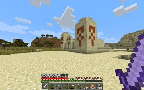 Minecraft Desert Temple by Wesley Fryer, on Flickr