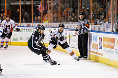 "Missouri Mavericks vs. Utah Grizzlies, December 28, 2016, Silverstein Eye Centers Arena, Independence, Missouri.  Photo: John Howe / Howe Creative Photography • <a style=""font-size:0.8em;"" href=""http://www.flickr.com/photos/134016632@N02/31813514352/"" target=""_blank"">View on Flickr</a>"