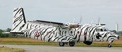 Nord 262 51 (707-348C) Tags: landivisiau lfrj marine aeronavale 51 n262 prop propliner turboprop military nord262 transport nord tigermeet tigercolours active