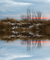 Winter Reflections (imageClear) Tags: sunset lakeshore beauty evening sheboygan wisconsin nikon aperture d500 35mmf18dx photostream imageclear flickr landscape picmonkeycom mirrored reflections