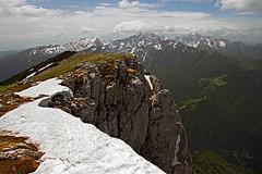 Raduha panorama (Vid Pogacnik) Tags: slovenia slovenija kamnikandsavinjaalps mountain hiking panorama landscape outdoor mountainside mountainridge