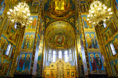 Church of the Savior on Spilled Blood in Russia (phuong.sg@gmail.com) Tags: angel architecture bible blessed blood building cathedral christ christian christianity church cupola decor evangelic gospel indoor inside interest interior jesus landmark light mary memorial mosaic mother orthodox orthodoxy ortodox petersburg place religion religious resurrection russia russian saint savior scene spilled stdtisch temple traditional virgin wall