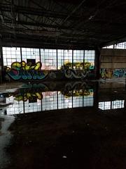 20170114_163015 (tsodan03) Tags: reflections abandonedky abandoned warehouse louisville