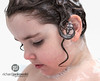[17.365] Harmony ♫ (Rich Jankowski) Tags: canon 5d mkii curly hair ef 2470 mm f28 l usm musical photo day 2017 bathtime girl bath 365 5d2 bubbles light music portrait ear