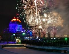 Panasonic FZ1000, Fireworks, Vieux-Port, Montréal, 7 January 2017 (6) (proacguy1) Tags: panasonicfz1000 fireworks vieuxport montréal 7january2017