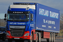 DAF - Shetland Transport  SV64 KCJ (john_mullin Thanks for 11 million views) Tags: scotland scottish british uk truck trucks trucking lorry lorries hgv commercials transport vehicle vehicles goods distribution freight haulage supply delivery logistics errol perth perthshire tayside