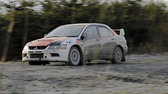 Photo of Scott Faulker Rally Test Wales 4th February 2017