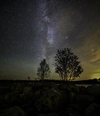 Milkyrama vol. 7 (Leksa87) Tags: canon eos 6d landscape panorama milky way astrophotography night sky stars clouds outdoor finland