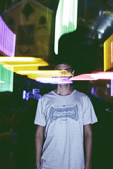 (Tc photography. Per) Tags: street boy music motion color guy face night canon vintage lights action flash young silhouettes games faceless effect peruvian t3i youngphotographer peruvianphotographer tcphotography