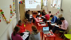 """Warm-up for the Eurovision Lab in the National Museum for Contemporary History in Ljubljana: • <a style=""""font-size:0.8em;"""" href=""""http://www.flickr.com/photos/109442170@N03/18381483845/"""" target=""""_blank"""">View on Flickr</a>"""