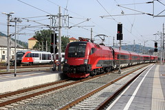 BB 1116 226 (2015-06-14) (railspotter graz) Tags: train eisenbahn rail railway zug hauptbahnhof graz taurus bahn bb lok oebb elok schnellzug personenzug railjet