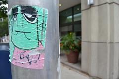 DSC_0216 (MaxTheMightyy) Tags: streetart art philadelphia graffiti sticker stickerart stickers postalsticker vandal vandalism philly slap usps 228 vandals graffitiart slaps postallabel