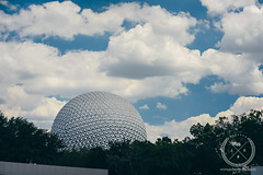 May 08, 2015-_JDS4404-web (Jon Schusteritsch) Tags: park family summer vacation sky ny clouds ball li orlando epcot nikon afternoon florida cloudy earth may sunny landmark icon disney longisland disneyworld sphere spaceship wdw waltdisneyworld magical iconic themepark spaceshipearth happiestplaceonearth 2015 d610 jschusteritsch jonschusteritsch